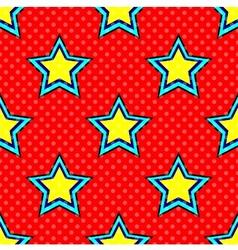 Pop Art Star vector