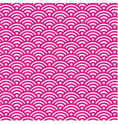 sashiko seamless pattern with traditional japanese vector image