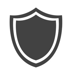 Shield protection emblem insignia security vector