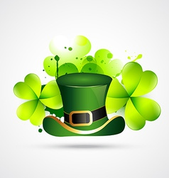abstract style st patricks day vector image