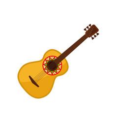 Acoustic guitar symbol mexico vector