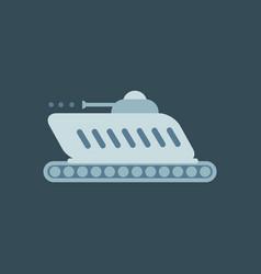 Cartoon modern armored tank available eps-10 vector