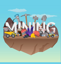 Mining flat composition vector
