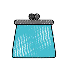 Purse accessory icon vector