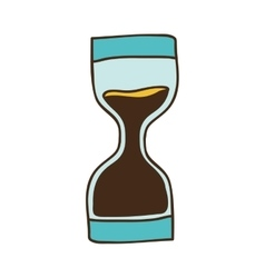 Sandclock time device vector