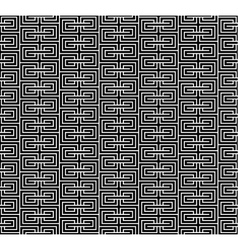 Spiral geometric black seamless vector