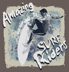 Surf Riders vector image