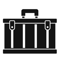 tool box icon simple style vector image