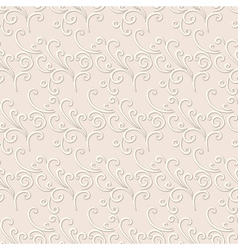 Abstract swirls pattern vector image vector image