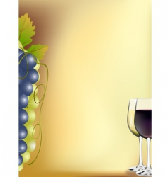 vine card vector image
