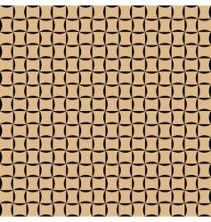 basket texture vector image vector image