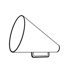 Set director megaphone icon image vector