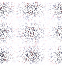 Abstract seamless pattern with red blue gray vector
