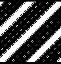 design seamless monochrome strip pattern vector image