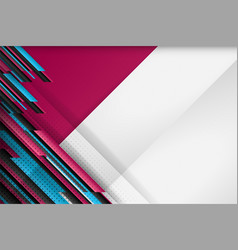 dot and stripe background vector image