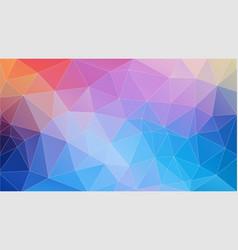 flat frash color geometric triangle wallpaper vector image