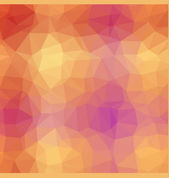 orange marmalade polygonal background vector image