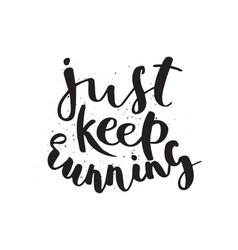 Running marathon logo jogging emblems label vector