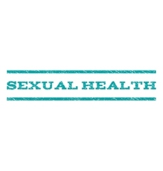 Sexual Health Watermark Stamp vector image