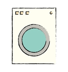 washer appliance equipment vector image