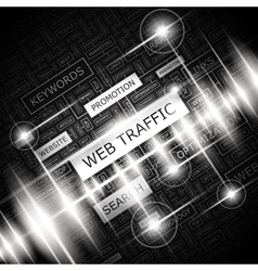 WEB TRAFFIC vector
