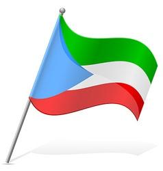 flag of Equatorial Guinea vector image