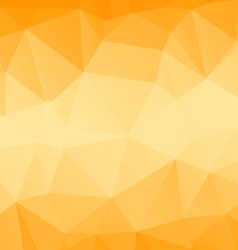 Yellow poly vector image