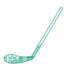 Ice hockey stick vector