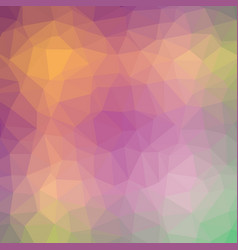 multicolor carnival polygonal background vector image