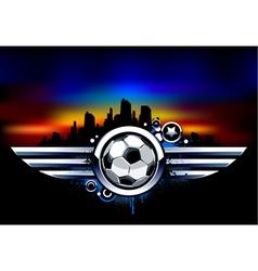 Sport background vector image