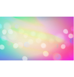 stock blurred color background vector image