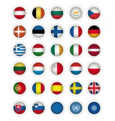icons flags vector image vector image