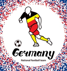 Germany 3 vector image