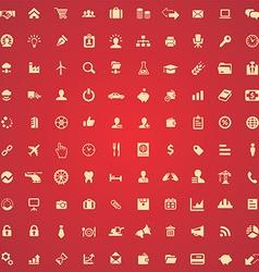 100 B2B icons vector image
