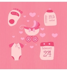 A set of objects for baby2 vector
