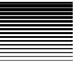 Artistic abstract parallel lines horizontally vector
