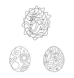 Design dinosaur and magic symbol set vector