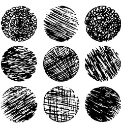 Drawing created in ink sketch handmade technique vector