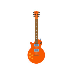 guitar electric rock music instrument musical vector image