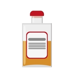 liquor bottle icon vector image