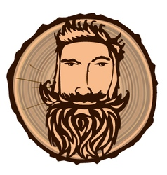 Lumberjack sign vector