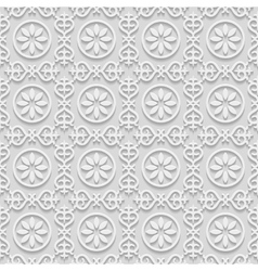 Paper islamic background vector image