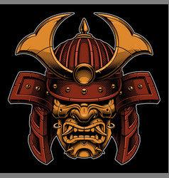 Samurai color version vector