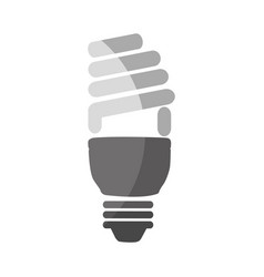 saving bulb isolated icon vector image