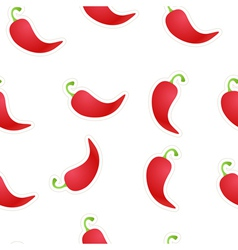 Seamless Chili Background vector