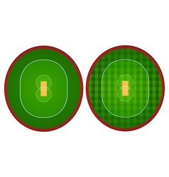 Two designs of sport court vector image