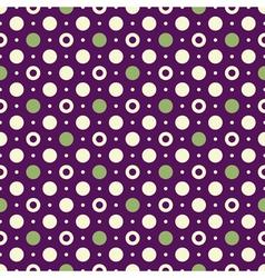 violet vintage pattern vector image