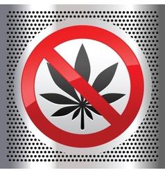 marijuana vector image vector image