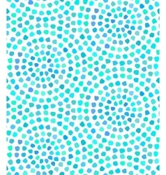 Blue Dots Painted Seamless Pattern vector image vector image