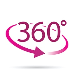 360 pink vector